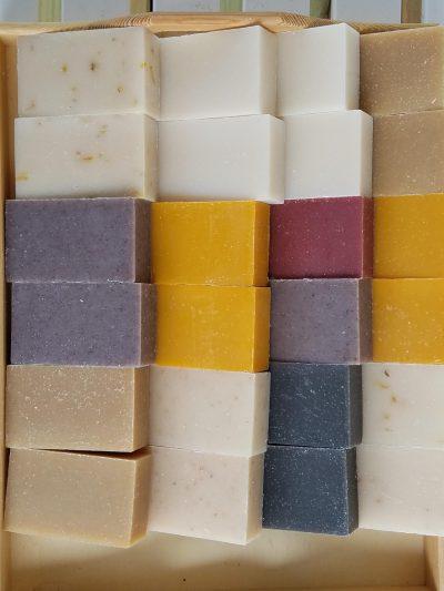 Purple Lavender Handmade Soap - Organic