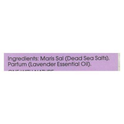 One With Nature Bath Salts - Dead Sea Mineral (Lavender Tangerine) - 32 Oz