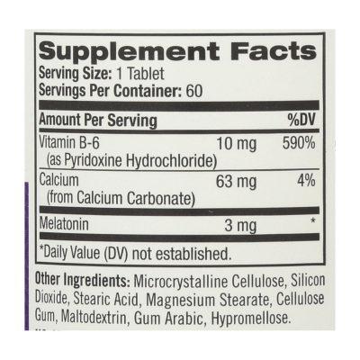 Natrol Melatonin (3 Mg) - 60 Tablets