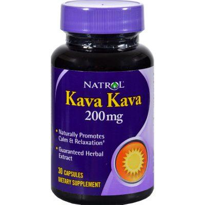 Natrol Kava Kava (200 Mg) - 30 Capsules