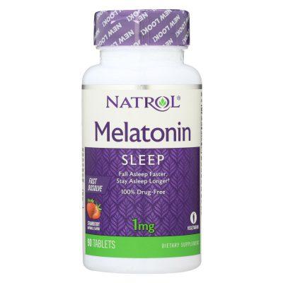 Natrol Fast Dissolving Melatonin (1 Mg) - 90 Tabs