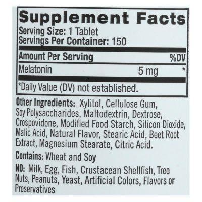 Natrol Melatonin Fast Dissolve Tablets (5 Mg) - 150 Count