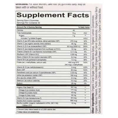 Smartypants - Complete Gummy Vitamin for Women - 120 Ct