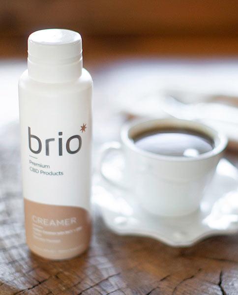 Brio Vanilla CBD Coffee Creamer, 310mg
